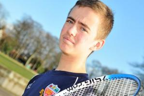 Net gains for young Bowdon tennis star